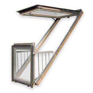 Мансардное Окно-Балкон FGH-V P2