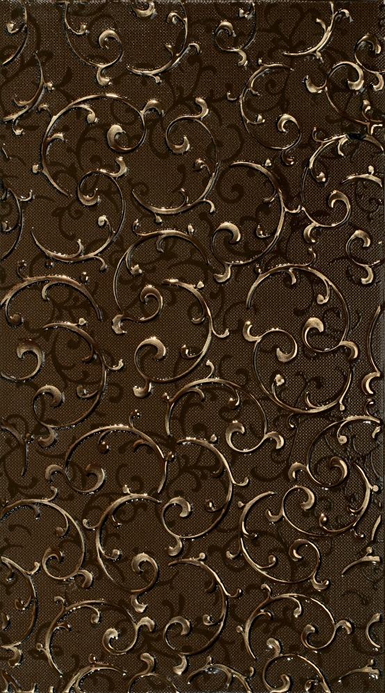 АНАСТАСИЯ декор орнамент шоколад 25х45
