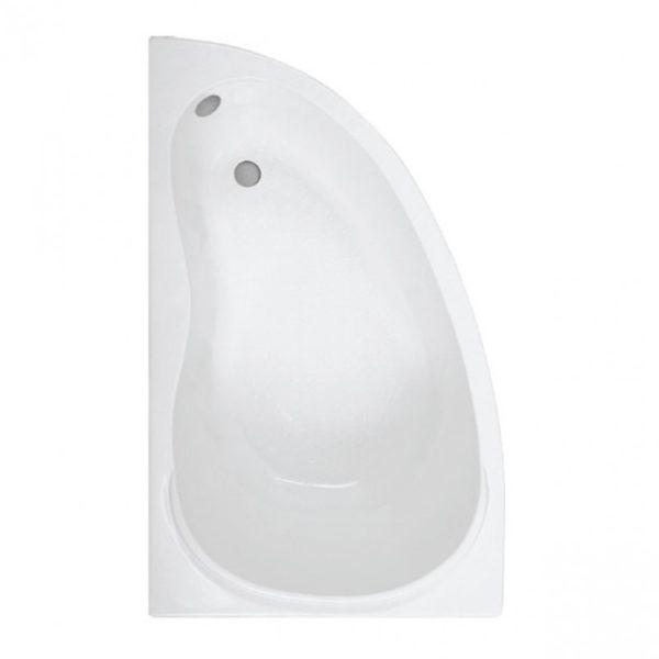 Ванна акриловая Алегра левая с каркасом