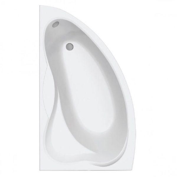Ванна акриловая Вектра левая с каркасом
