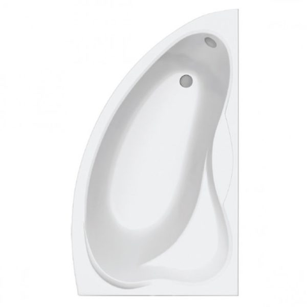 Ванна акриловая Вектра правая с каркасом