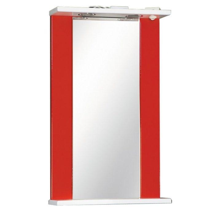 Зеркало ДУЭТ 45см красный
