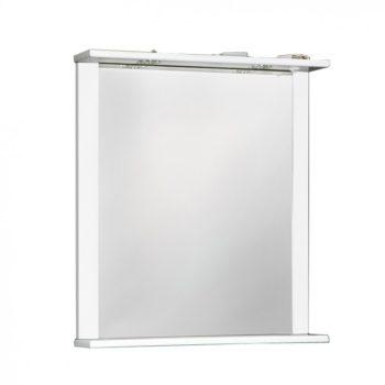 Зеркало ДУЭТ 60см белый