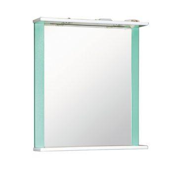 Зеркало ДУЭТ 60см бирюза