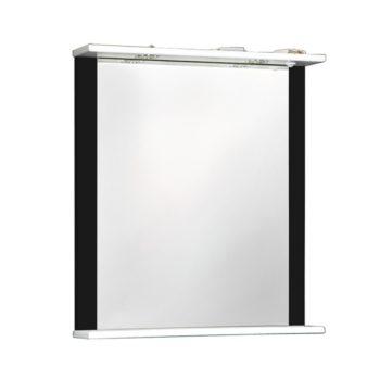 Зеркало ДУЭТ 60см черный