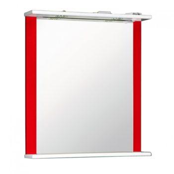 Зеркало ДУЭТ 60см красный