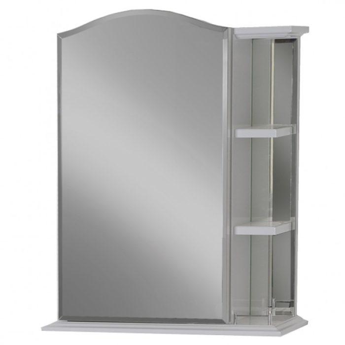 Зеркало-шкаф ДУБЛИН белый матовый