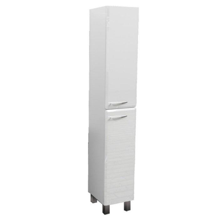 Шкаф-колонна БОЛОНИЯ 30см белый