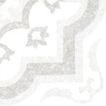 Светло-серый декор 3 200х600