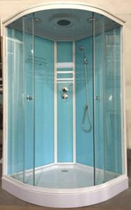 Душевая кабина 1702 (голубые стекла)