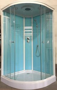 Душевая кабина 1701 (голубые стекла)