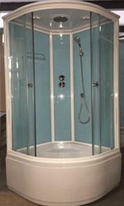 Душевая кабина 1704 (голубые стекла)