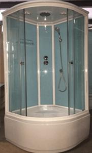 Душевая кабина 1703 (голубые стекла)