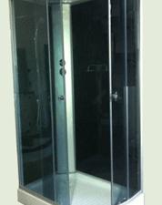Душевая кабина 285 B черное стекло (правая)