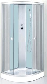 Душевая кабина 7111 W (белое стекло)