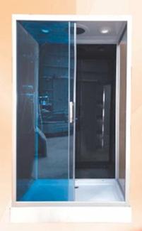 Душевая кабина 1660 В (черное стекло)