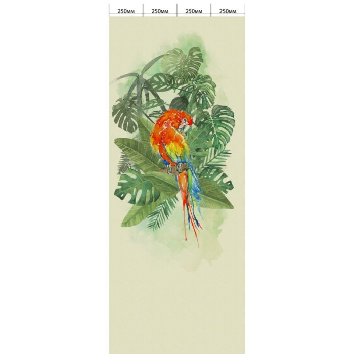 Орхидея светло-зелёная - Попугай